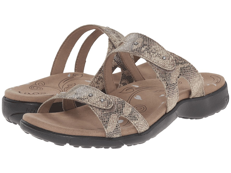 Taos Footwear - Journey (Tan Snake Multi) Women's Shoes