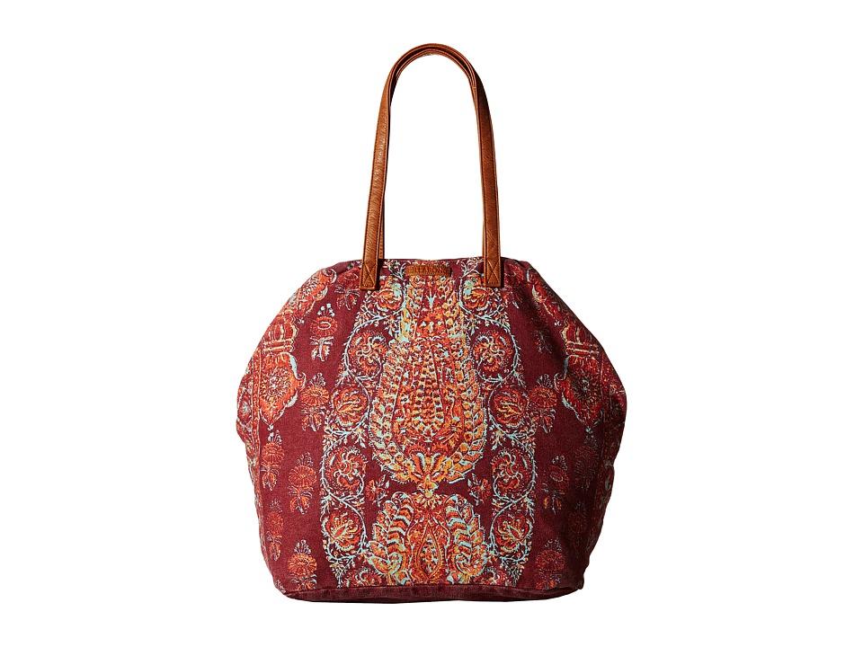 Billabong - Morro Solstice Tote Bag (Black Cherry) Tote Handbags