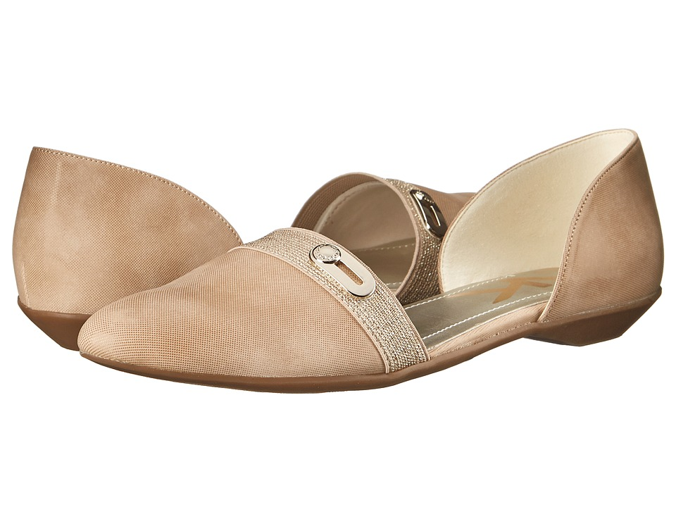 Anne Klein - Oshea (Light Natural/Light Pink Synthetic) Women's Flat Shoes