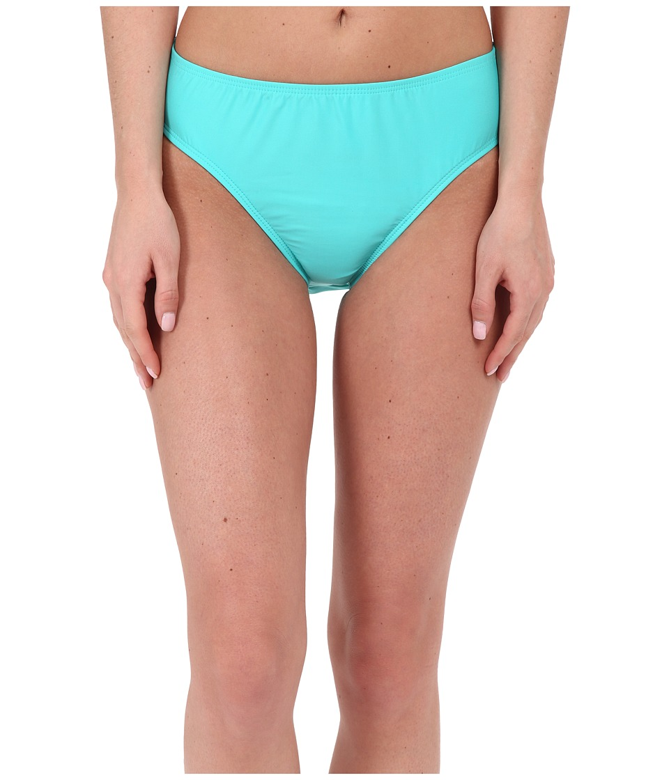 Nautica - Signature High Waist Pants NA27356 (Aqua) Women's Swimwear