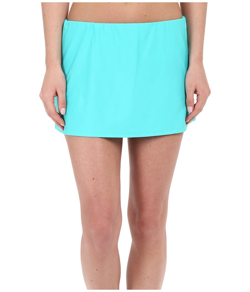 Nautica - Signature Skirted Pants NA27326 (Aqua) Women's Swimwear
