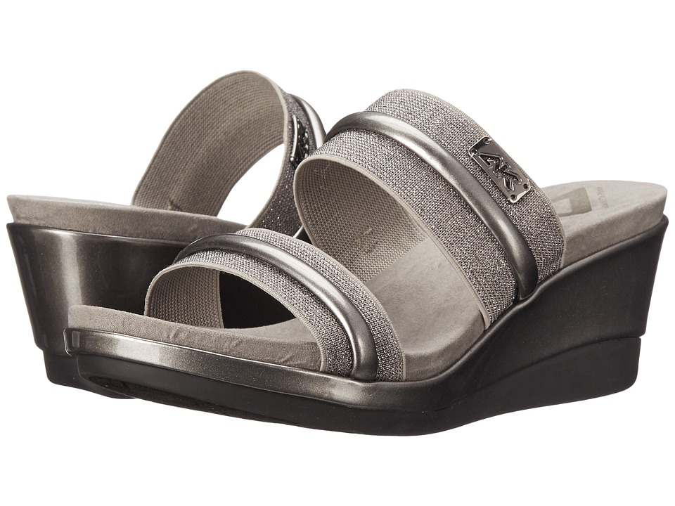 Anne Klein Portier (Dark Pewter/Dark Pewter Fabric) Women