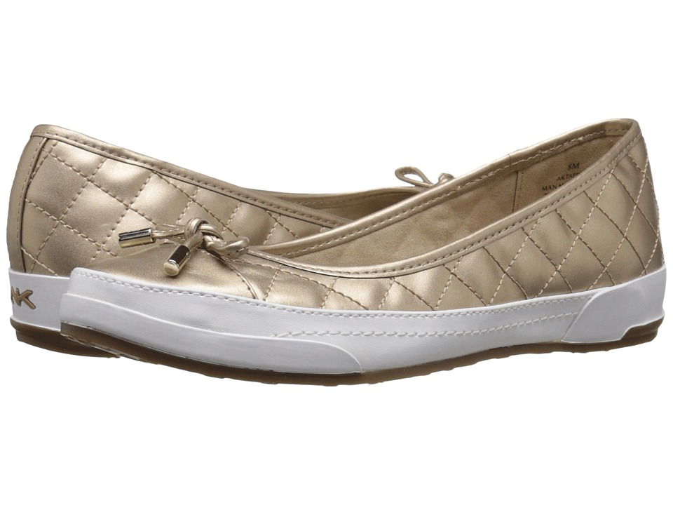 Anne Klein - Tapio (Light Gold Multi Synthetic) Women's Flat Shoes