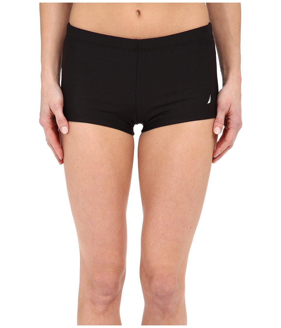 Nautica - Signature Boyshorts NA27376 (Black) Women's Swimwear