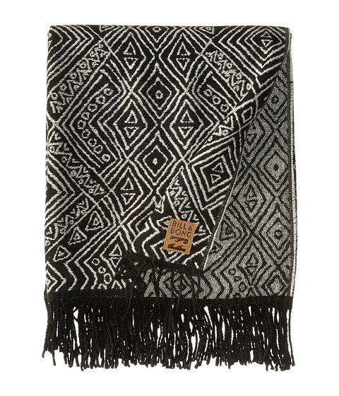 Billabong - Gypsea Blanket Scarf (Off-Black) Scarves