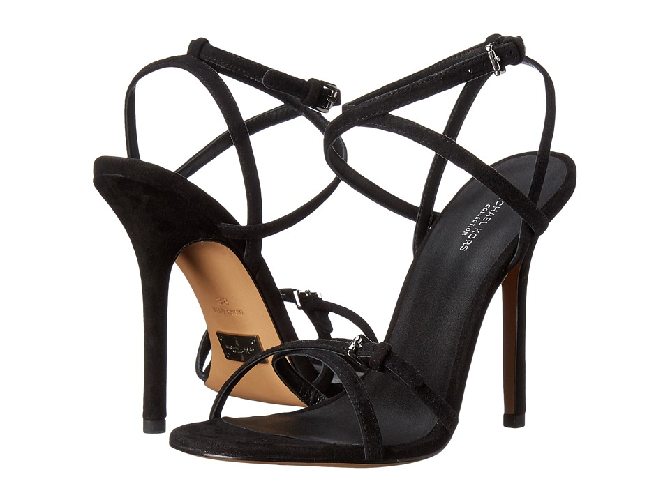 Michael Kors - Jennie (Black Kid Suede) Women's Slip on Shoes