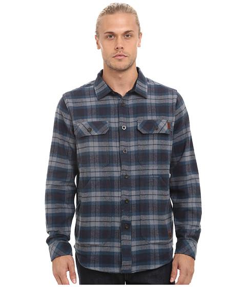 Billabong - Lincoln Long Sleeve Button Up Shirt (Indigo) Men