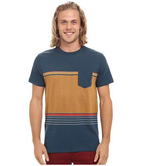 Billabong - Spinner Short Sleeve Crew (Marine) Men