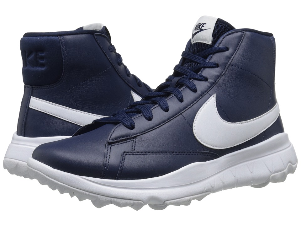 Nike Golf - Blazer (Midnight Navy/White) Women's Golf Shoes