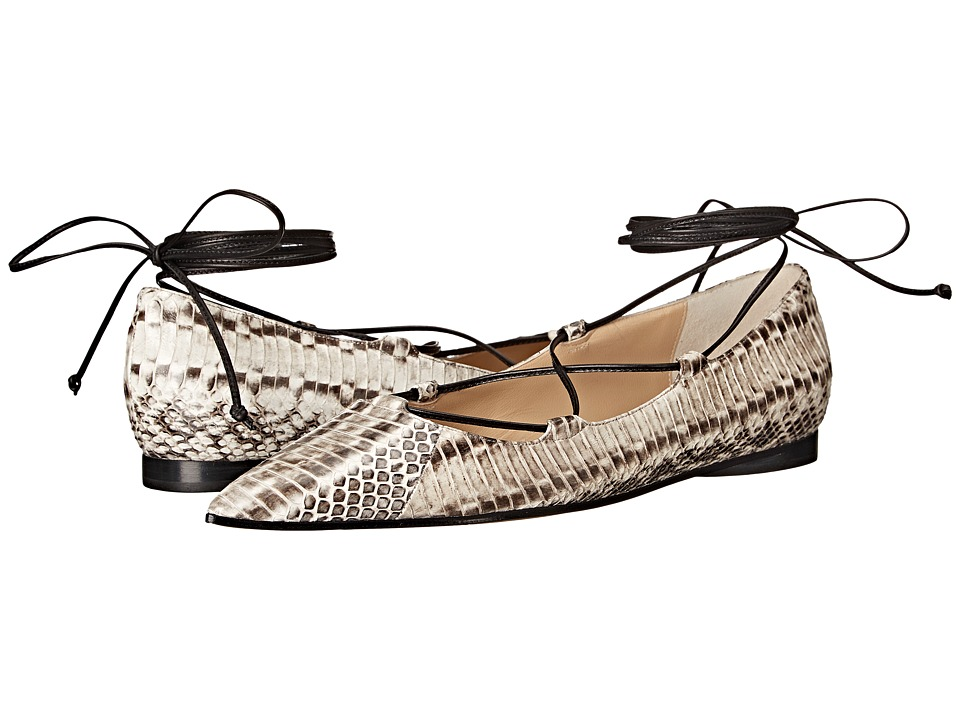 Michael Kors - Kallie Runway (Natural Genuine Snake/Smooth Calf) Women