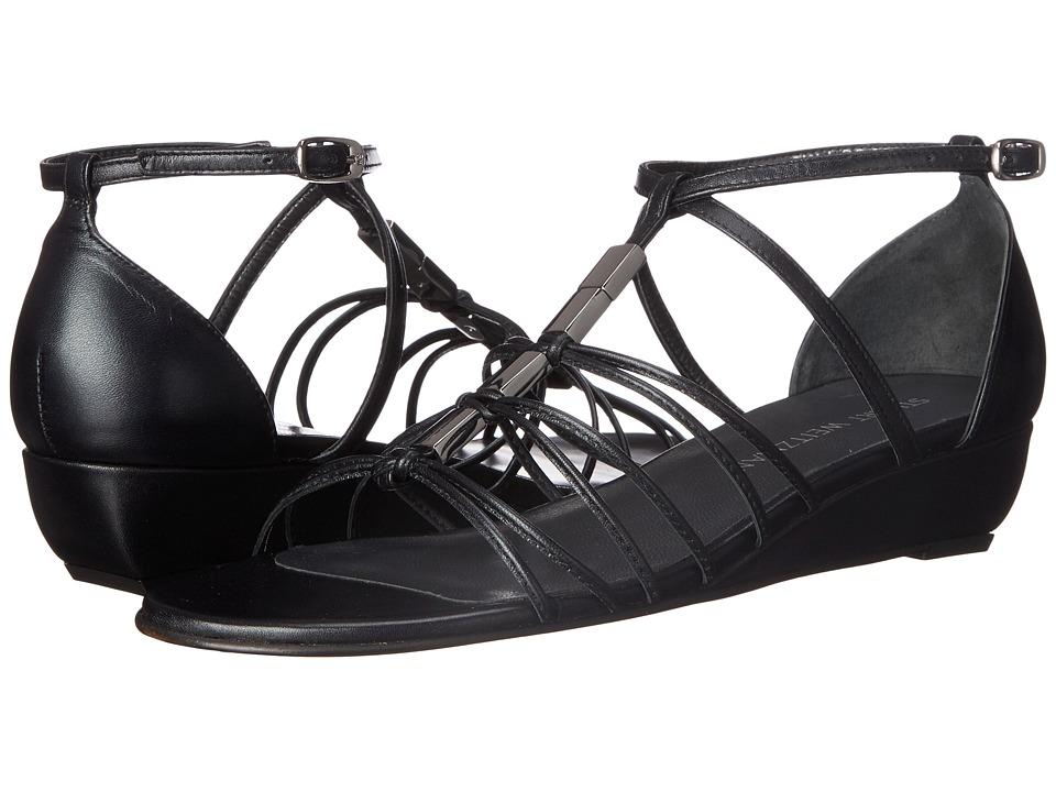 Stuart Weitzman - Lowlight (Black Supple Kid) Women's Shoes