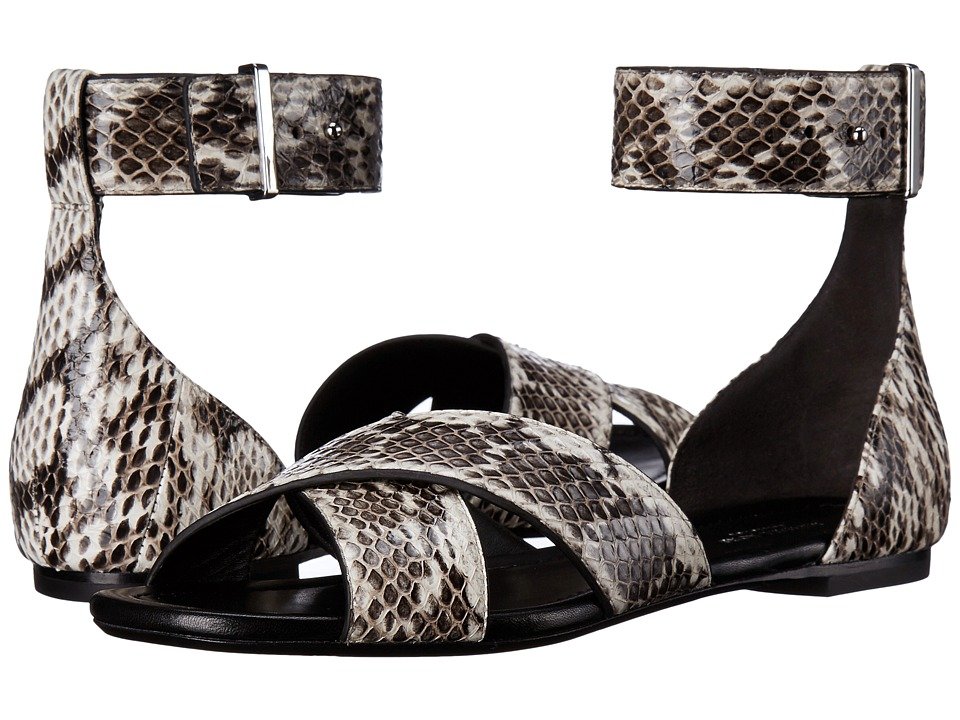 Michael Kors Robbie (Natural Genuine Snake/Smooth Calf) Women