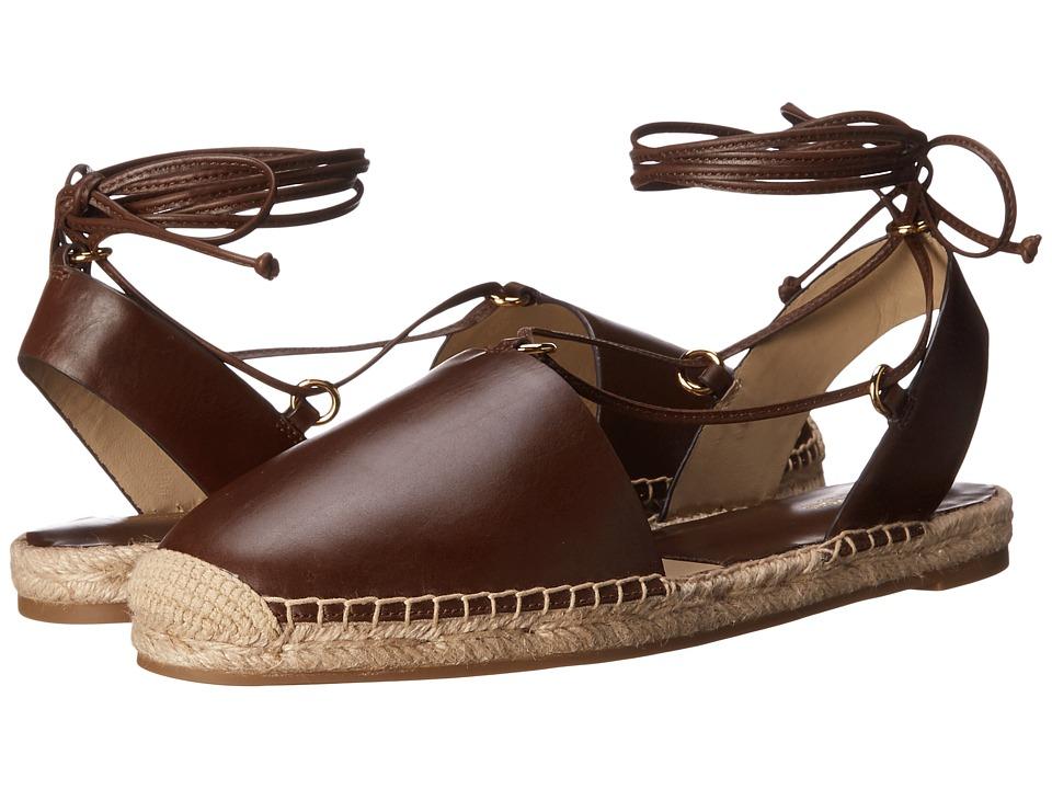Michael Kors Tiffany (Nutmeg Smooth Calf/Jute) High Heels