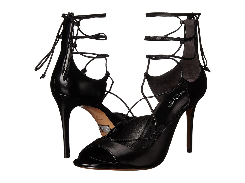 Michael Kors Valerie (Black Smooth Calf) High Heels