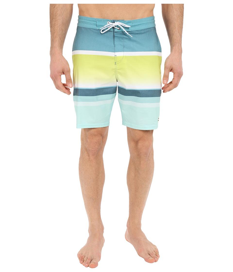 Billabong Spinner Lo Tides 19 Boardshorts (Lime) Men
