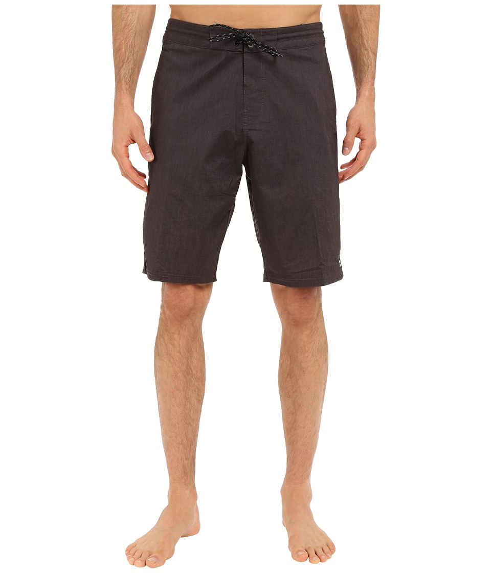 Billabong - All Day Lo Tides 21 Boardshorts (Black) Men's Swimwear