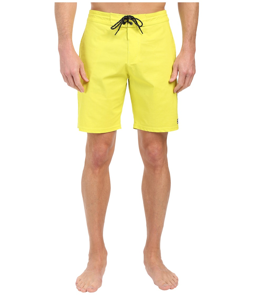Billabong - All Day Lo Tides 19 Boardshorts (Neo Lime) Men's Swimwear