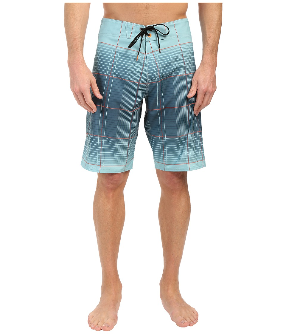 Billabong - All Day X Plaid 21 Boardshorts (Haze) Men's Swimwear