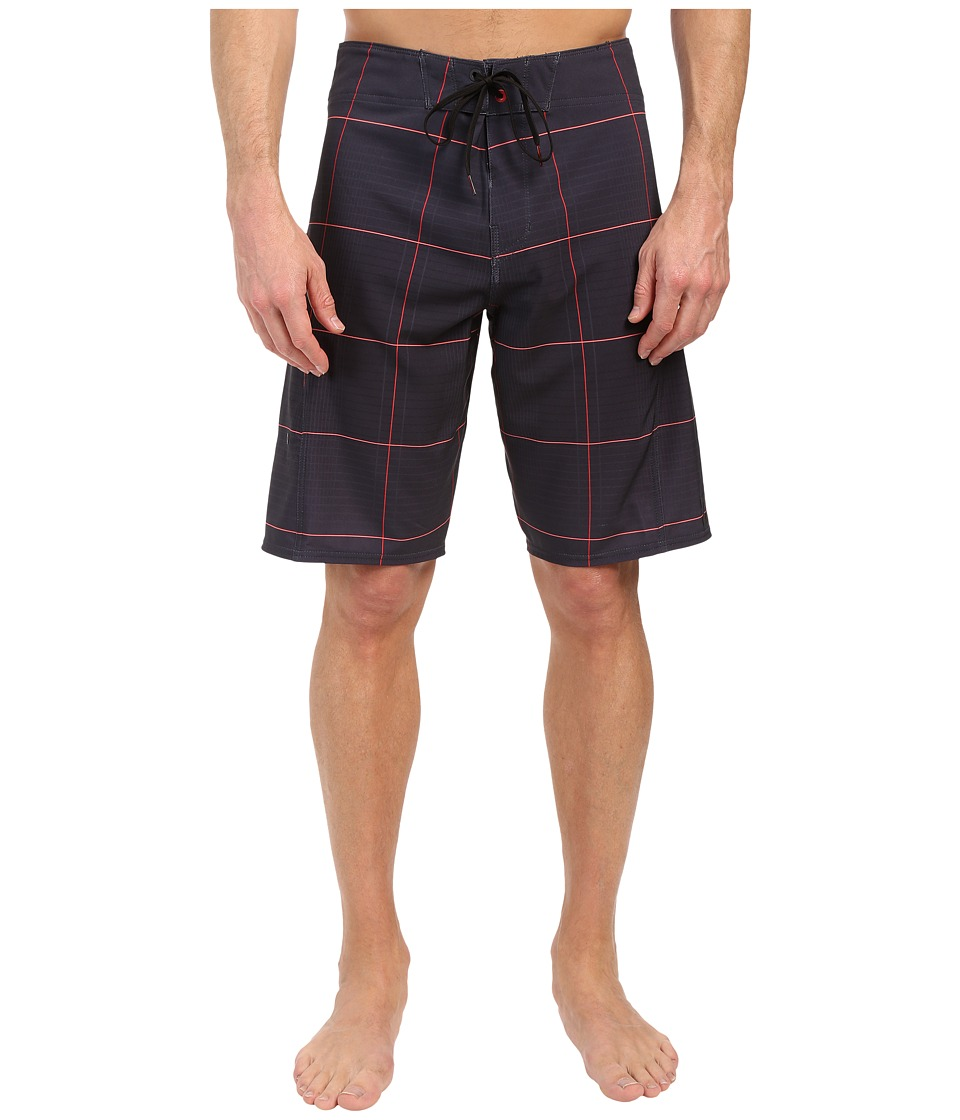 Billabong - All Day X Plaid 21 Boardshorts (Stealth) Men's Swimwear