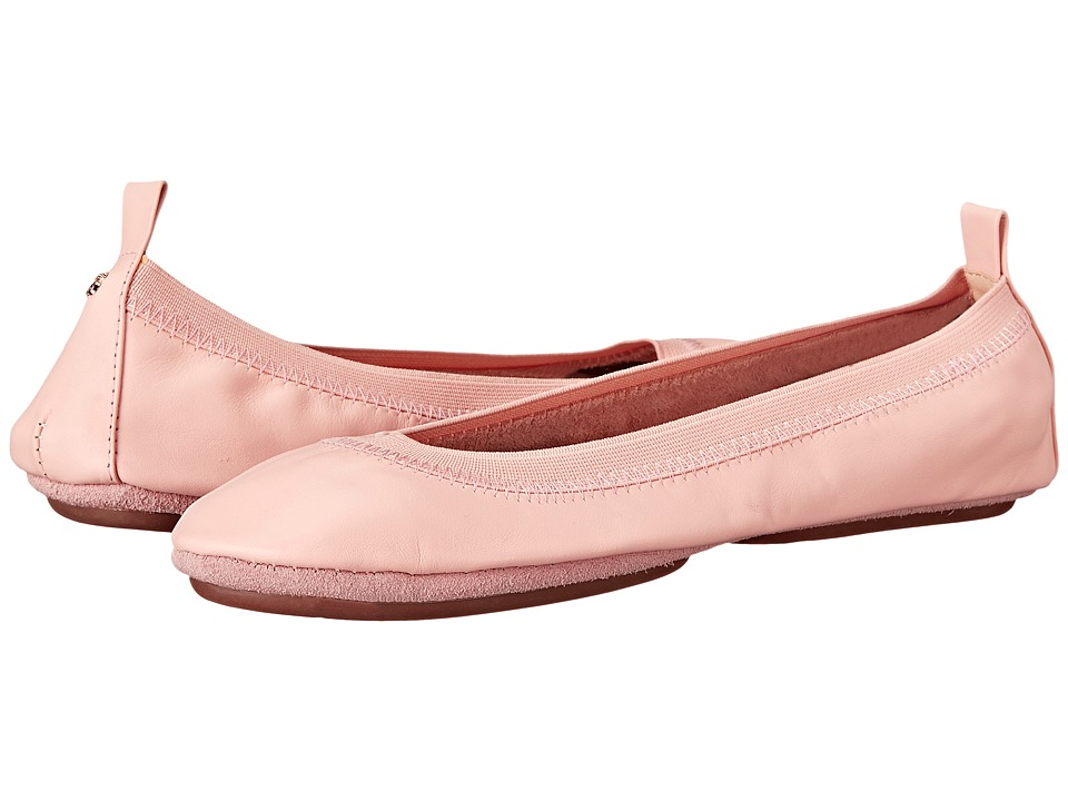 Yosi Samra - Samara Flat Leather (Ballet Pink) Women's Flat Shoes