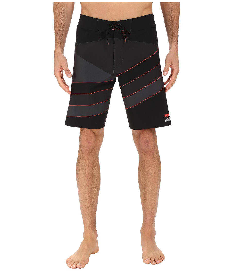 Billabong - Slice X Pro 19 Performance Boardshorts (Stealth) Men's Swimwear