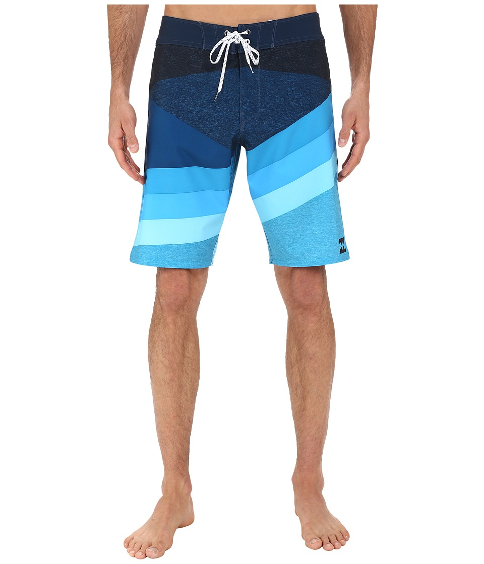 Billabong - Slice X 20 Boardshorts (Blue) Men's Swimwear