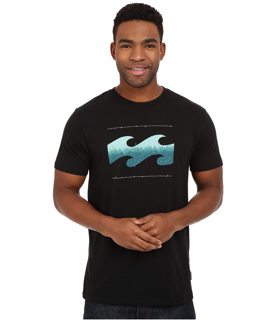 Billabong - Altered Tee (Black) Men's Short Sleeve Pullover