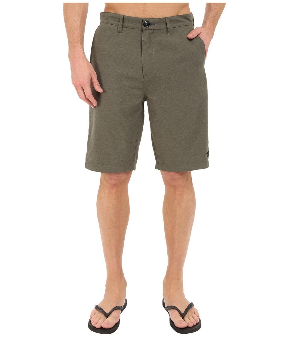 Billabong - Carter Heather Submersible Shorts (Dark Olive Heather) Men's Shorts