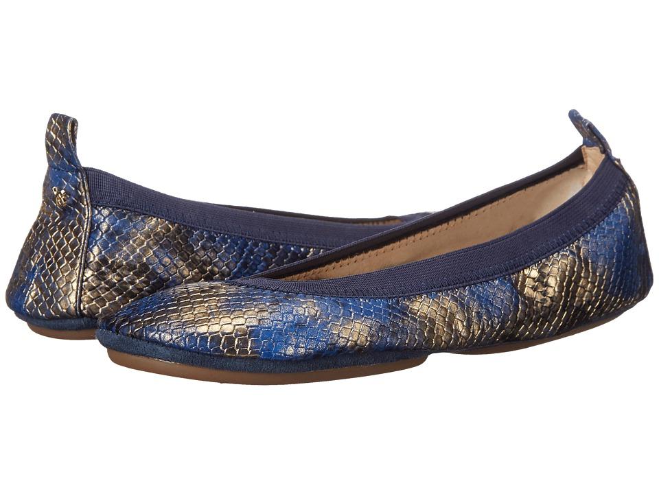 Yosi Samra - Samara (Marina Blue) Women's Flat Shoes