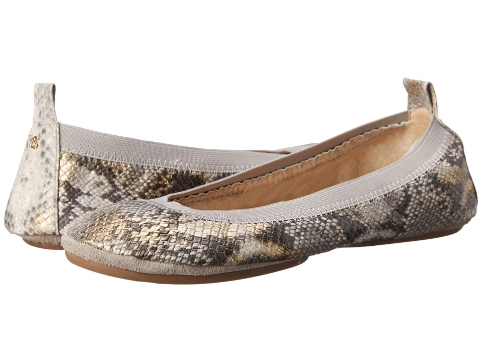 Yosi Samra - Samara (Dove Grey) Women's Flat Shoes