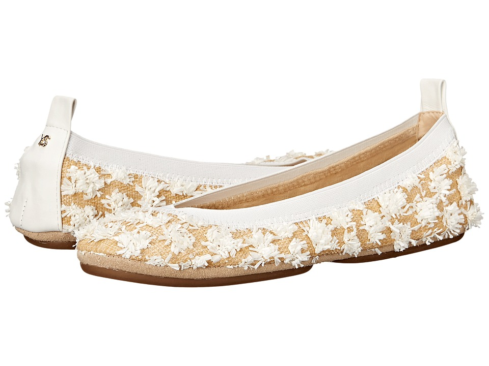 Yosi Samra - Samara (White) Women's Flat Shoes