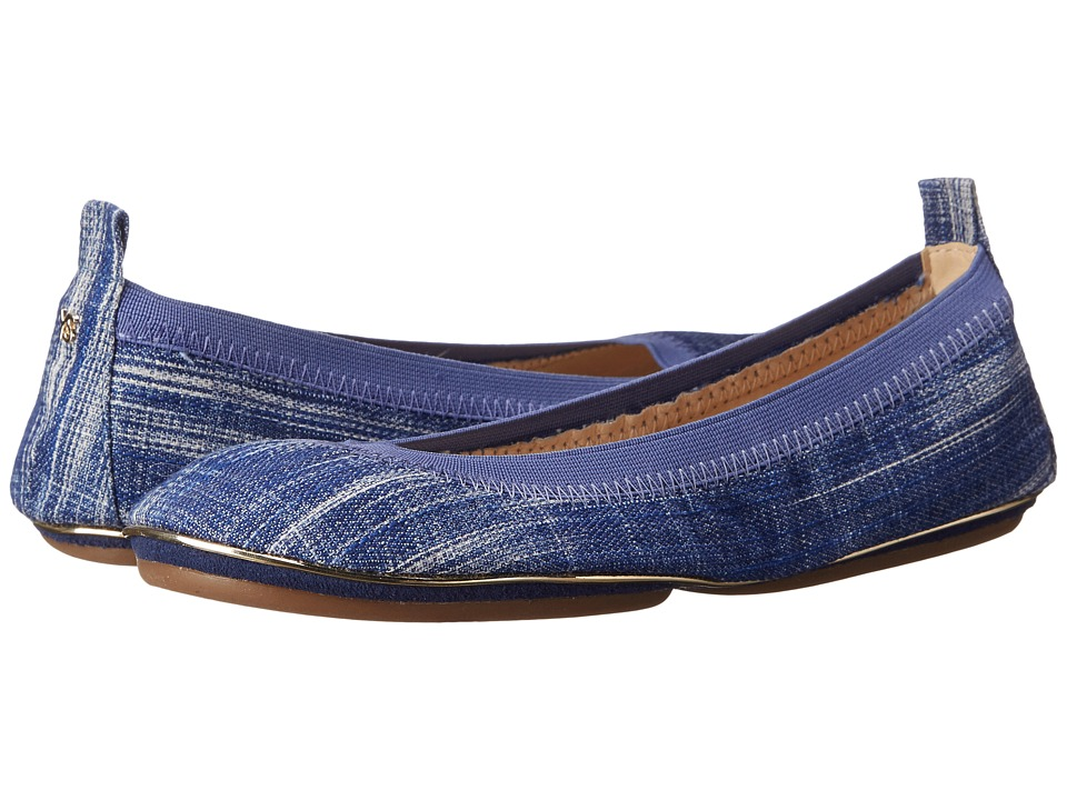 Yosi Samra - Samara (Mezzo Blue) Women's Flat Shoes