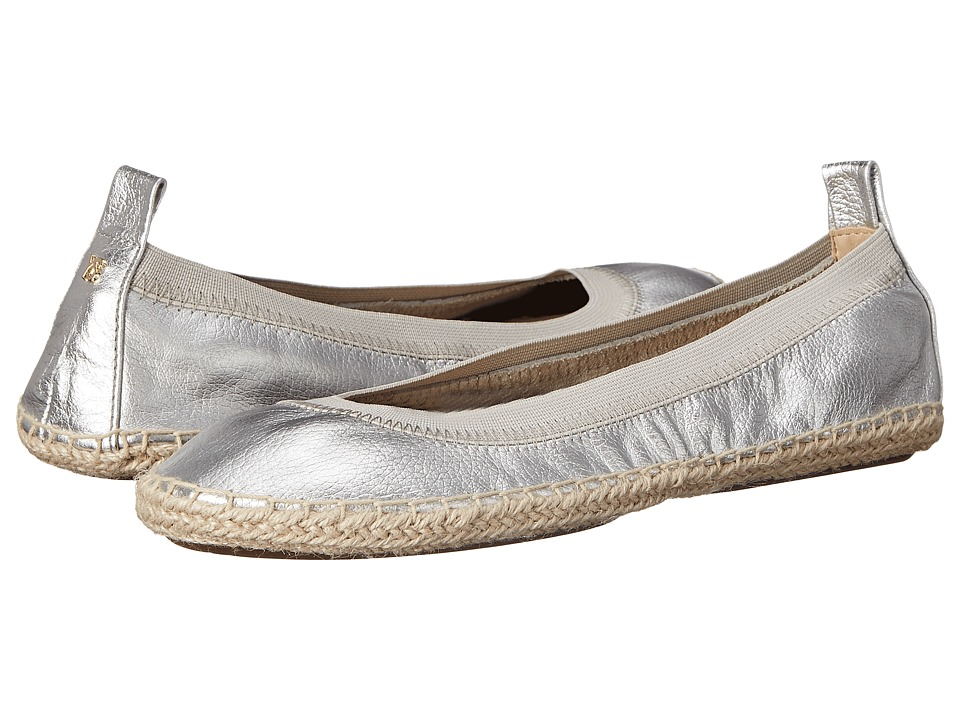 Yosi Samra - Lara (Silver) Women's Flat Shoes