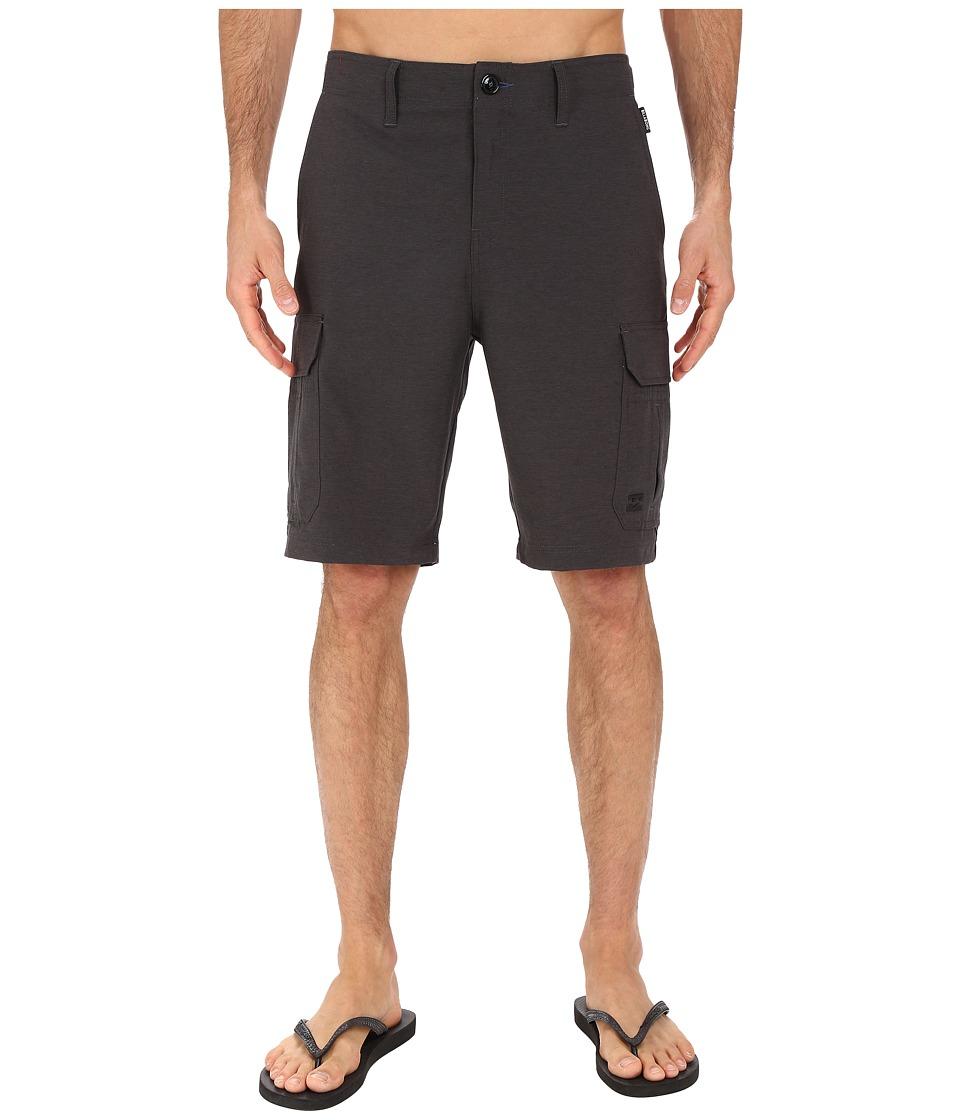 Billabong - Scheme Cargo Submersible Shorts (Black Heather) Men's Shorts
