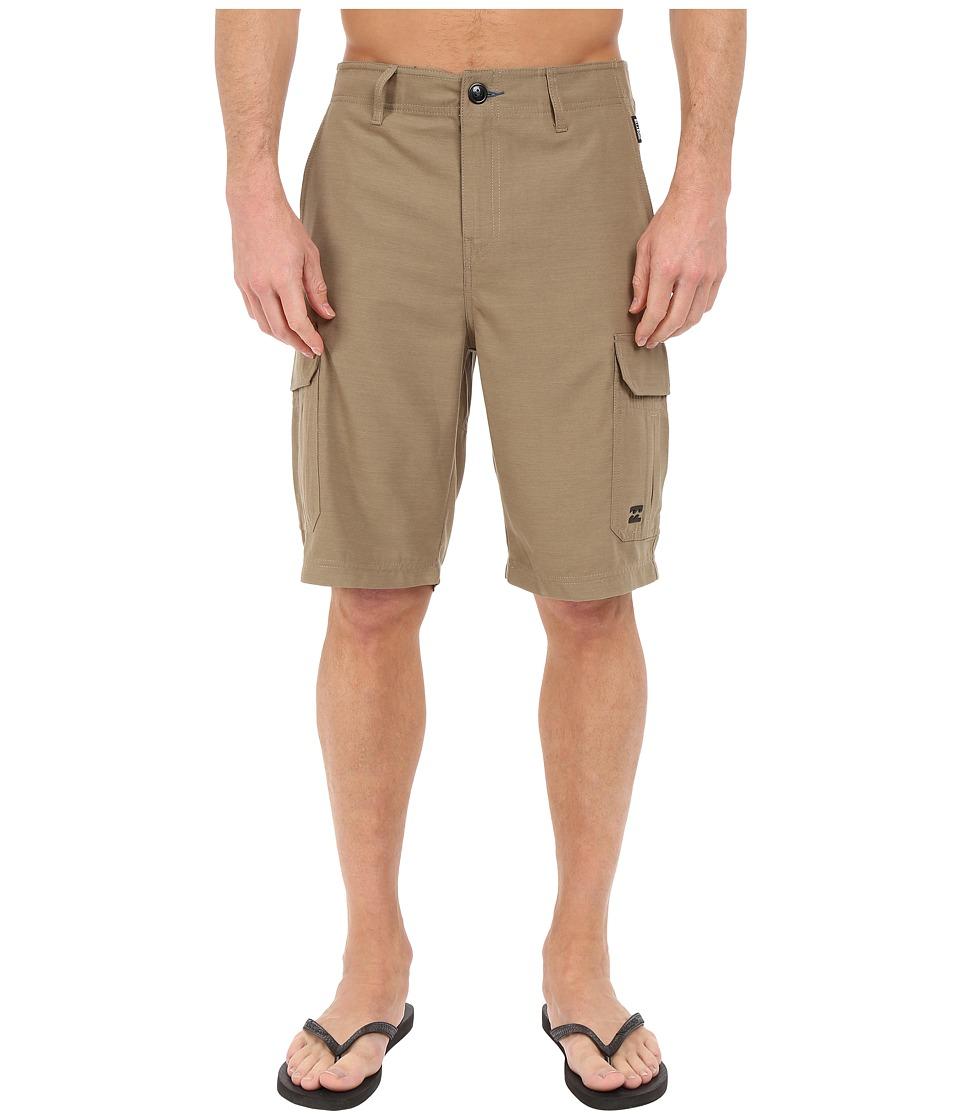 Billabong - Scheme Cargo Submersible Shorts (Khaki Heather) Men's Shorts