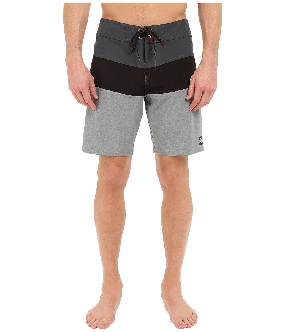 Billabong - Tribong X 19 Boardshorts (Metal) Men's Swimwear