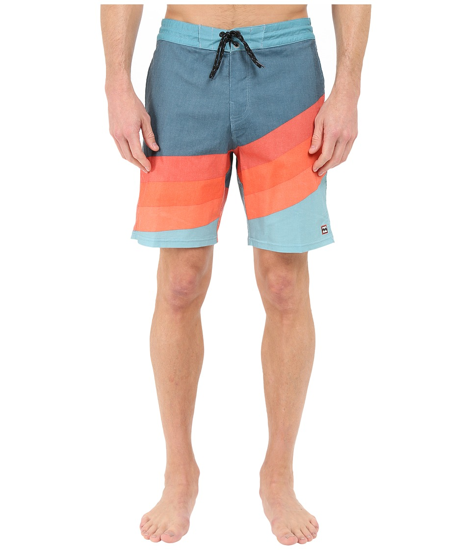 Billabong - Slice Lo Tides 19 Boardshorts (Haze) Men's Swimwear