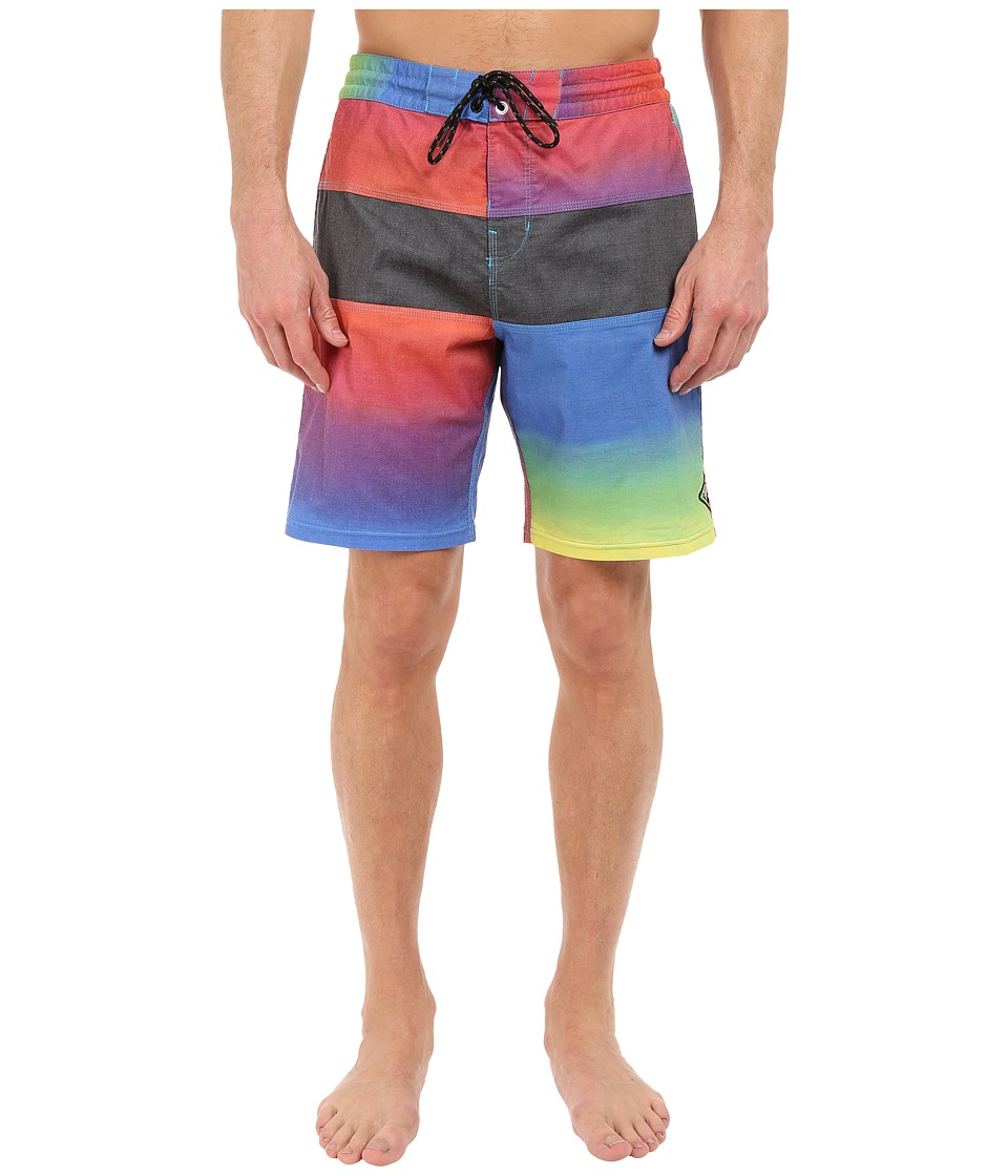 Billabong - Tribong Re-Issue Faded 18 Boardshorts (Neon) Men's Swimwear