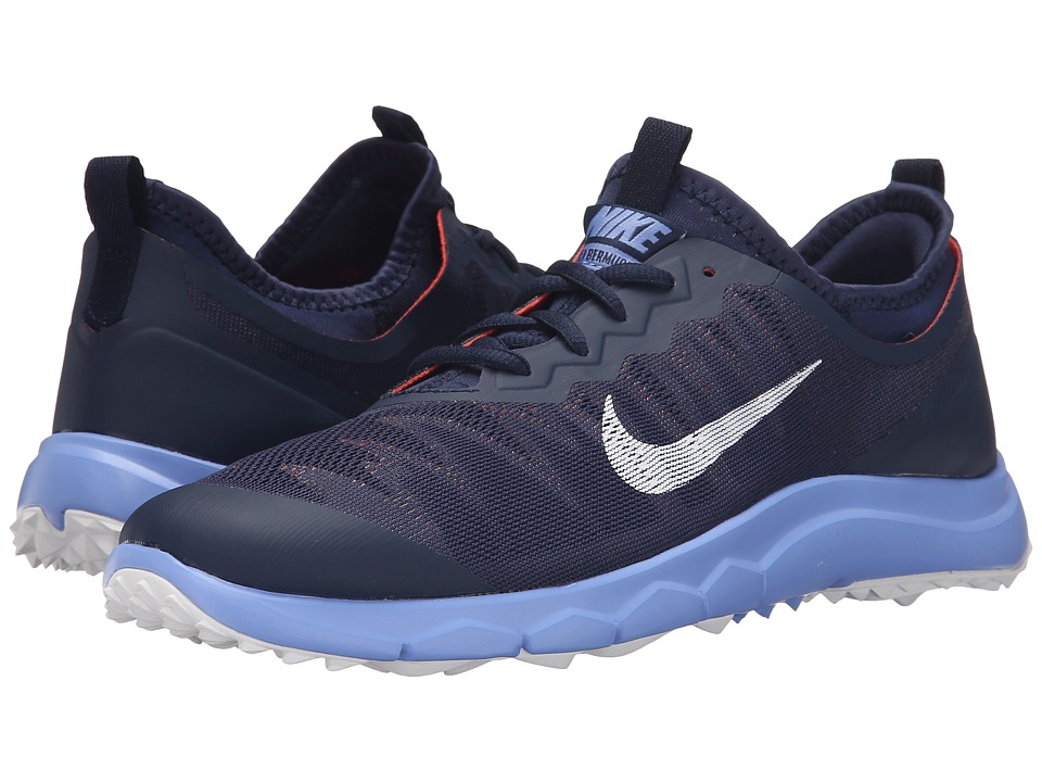 Nike Golf - FI Bermuda (Midnight Navy/White Chalk) Women'...