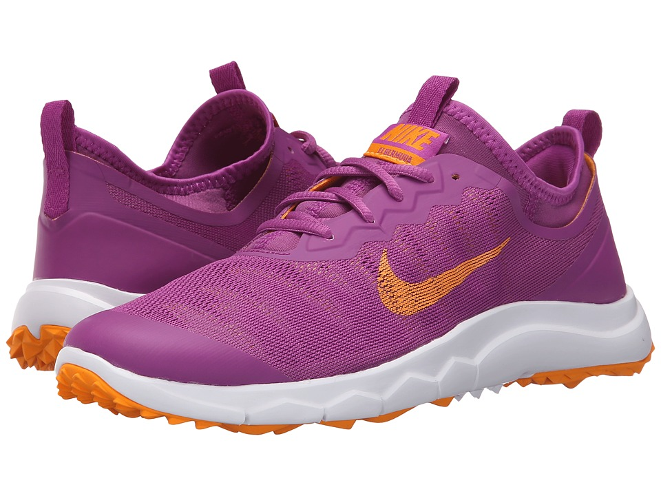 Nike Golf - FI Bermuda (Cosmic Purple/Vivid Orange/Purple) Women's Golf Shoes