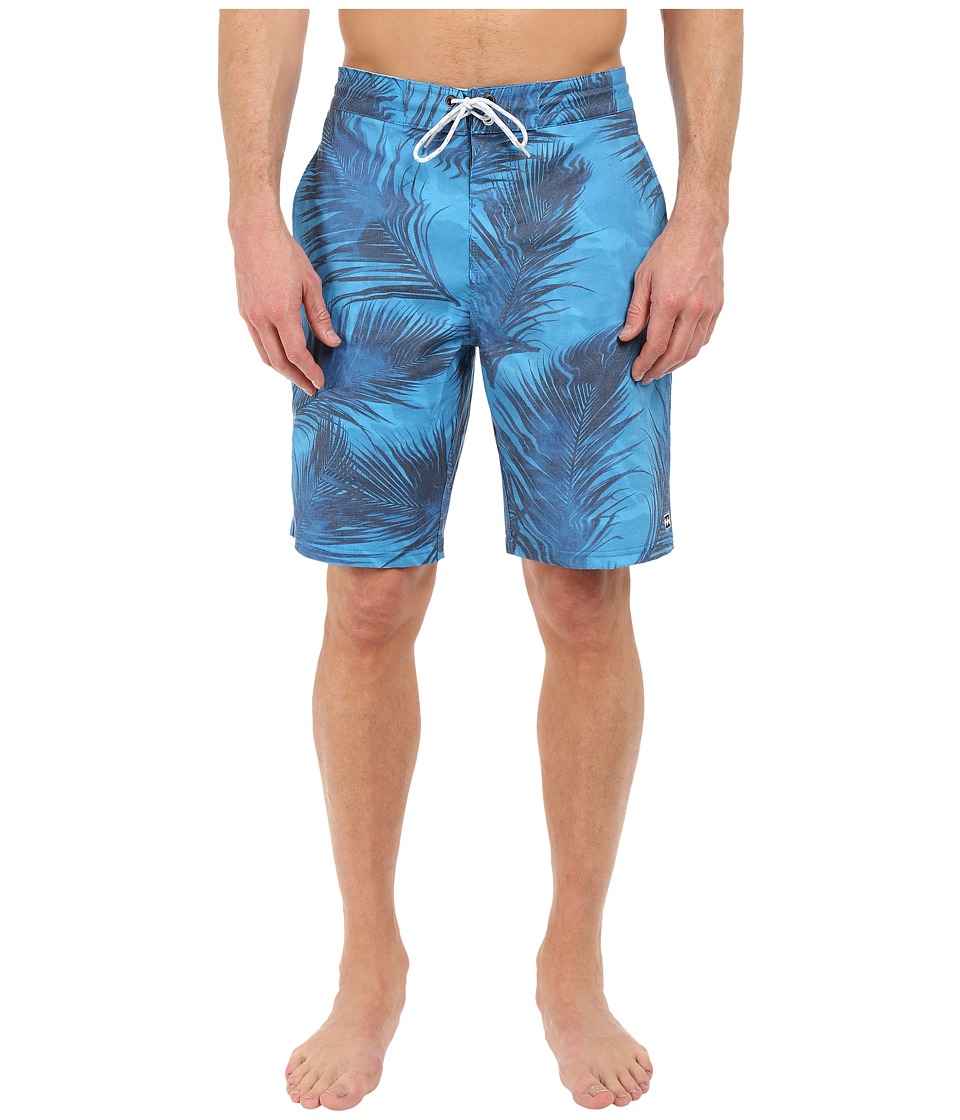 Billabong - All Day Poolside Lo Tides 19 Boardshorts (Blue) Men's Swimwear