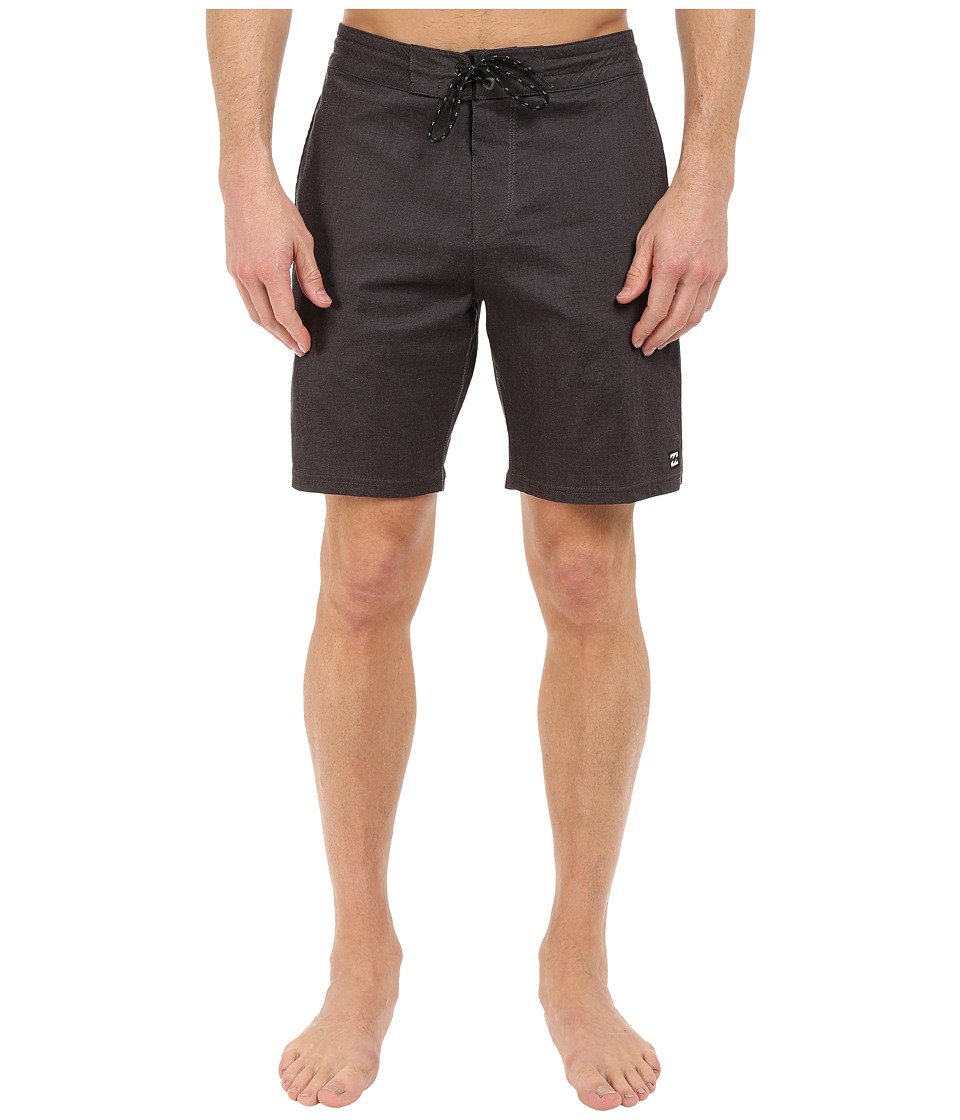 Billabong All Day Lo Tides 19 Boardshorts (Black) Men