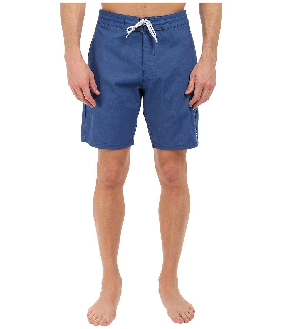 Billabong - All Day Lo Tides 19 Boardshorts (Indigo) Men's Swimwear