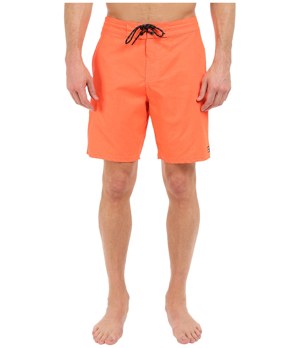 Billabong All Day Lo Tides 19 Boardshorts (Neo Red) Men