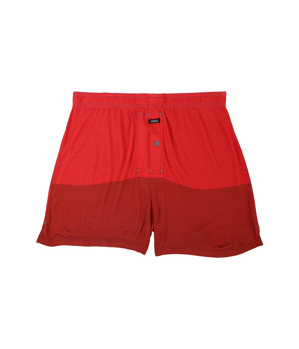 Stance - Nightridge (Red) Men's Underwear