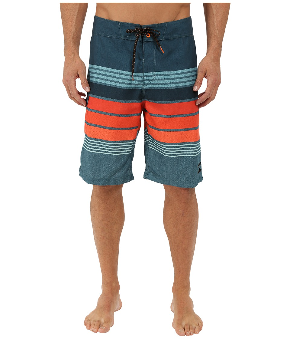 Billabong - All Day Stripe 21 Boardshorts (Haze) Men's Swimwear