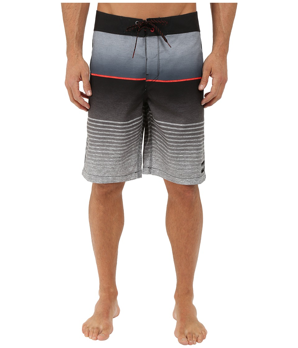 Billabong - All Day Faded 21 Boardshorts (Black) Men's Swimwear