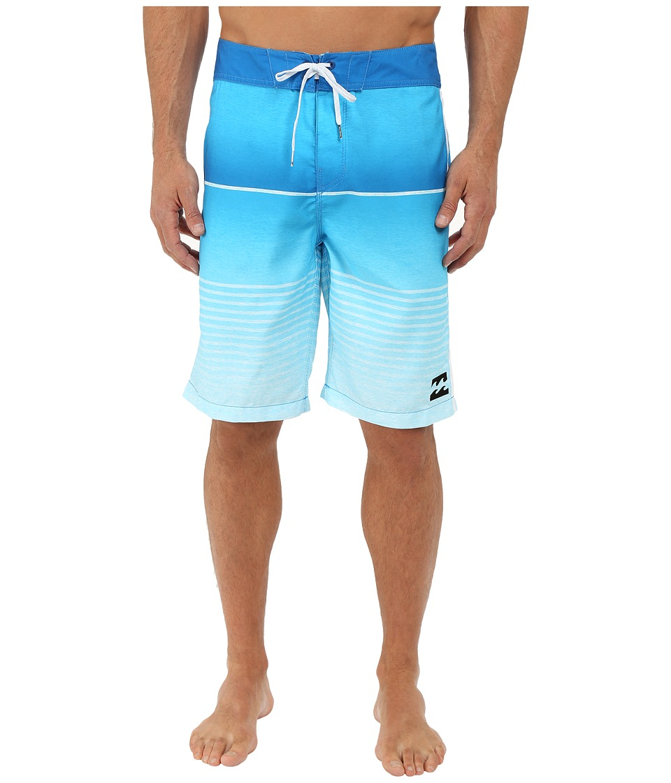 Billabong - All Day Faded 21 Boardshorts (Cyan) Men's Swimwear