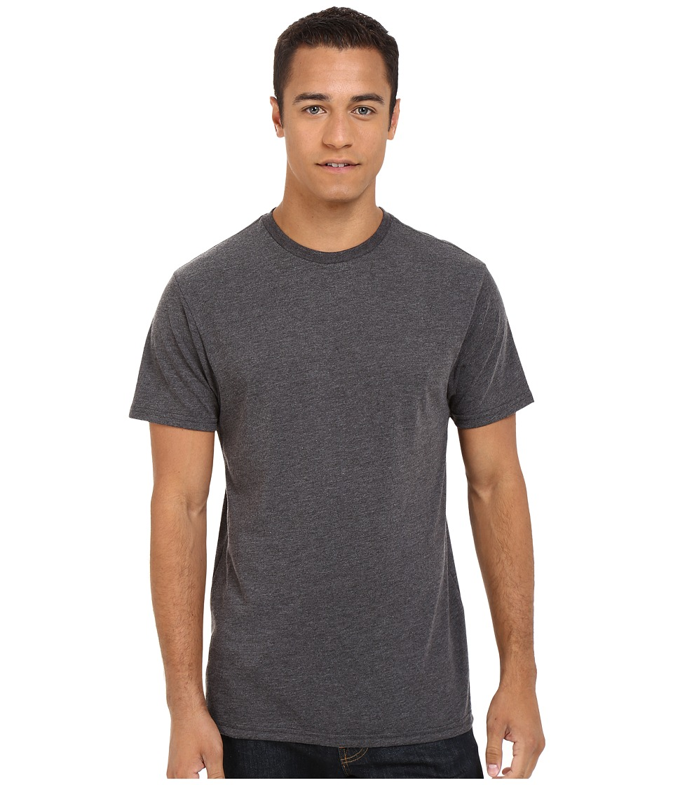 Billabong - Essential Tailored Tee (Black Heather) Men's Short Sleeve Pullover