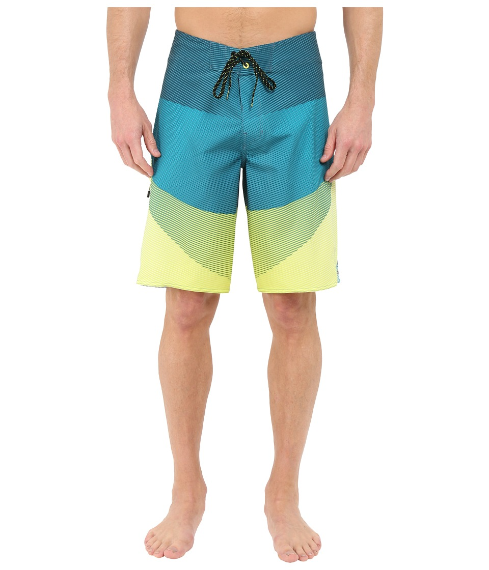 Billabong - Fluid X 21 Boardshorts (Lime) Men's Swimwear
